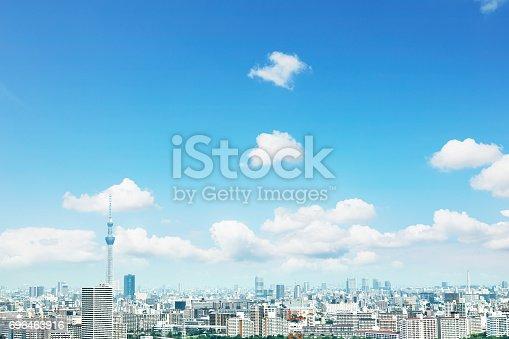 istock landscape of Tokyo city 696463916