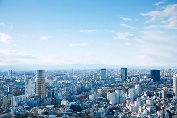 東京都心の風景 - 街 日本 ストックフォトと画像