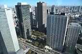 istock Landscape of Tokyo in Japan 1198598038