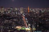 istock Landscape of Tokyo in Japan 1198598082