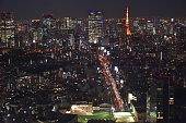istock Landscape of Tokyo in Japan 1198598105