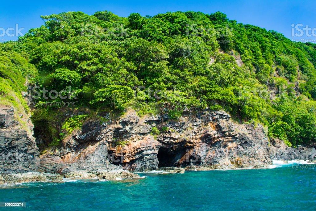 Landscape of tropical island Bon, Thailand stock photo