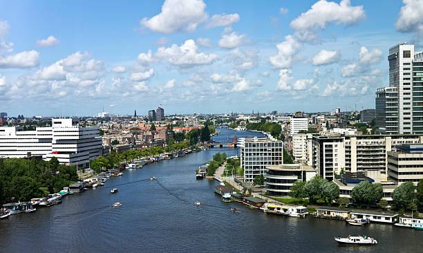 Amsterdam-skyline – Foto