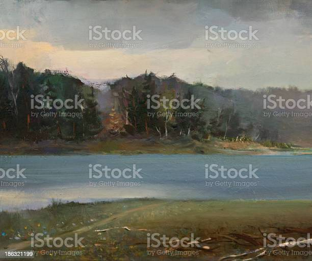 Photo of Landscape Oil Painting