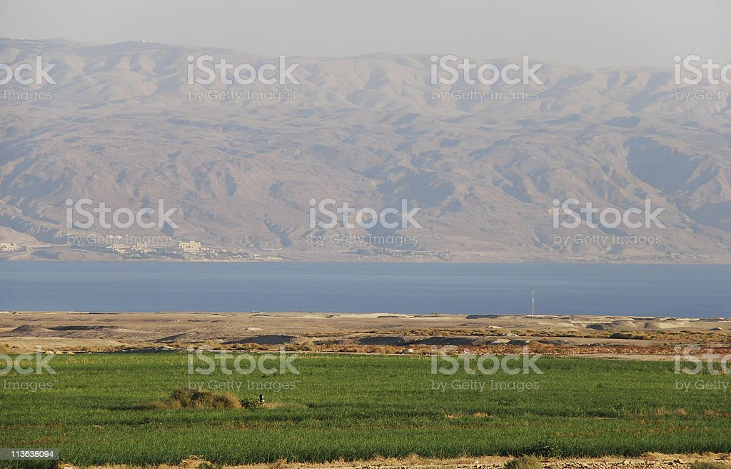 Dead Sea Landscape royalty-free stock photo