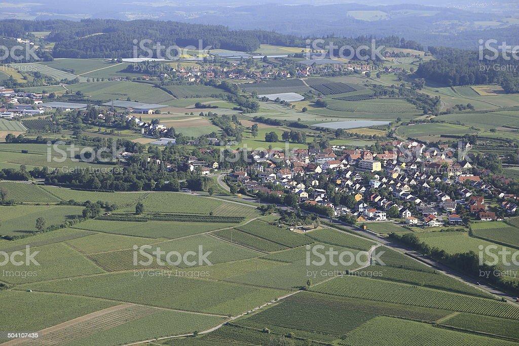 Landscape on Lake Constance/Germany stock photo