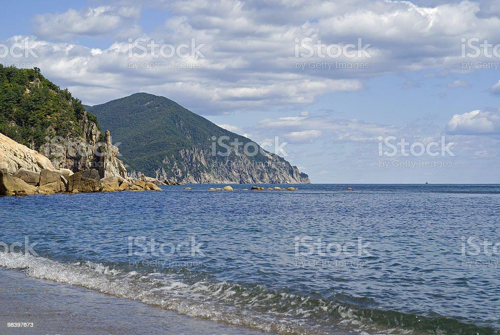 Landscape on Sea royalty-free stock photo