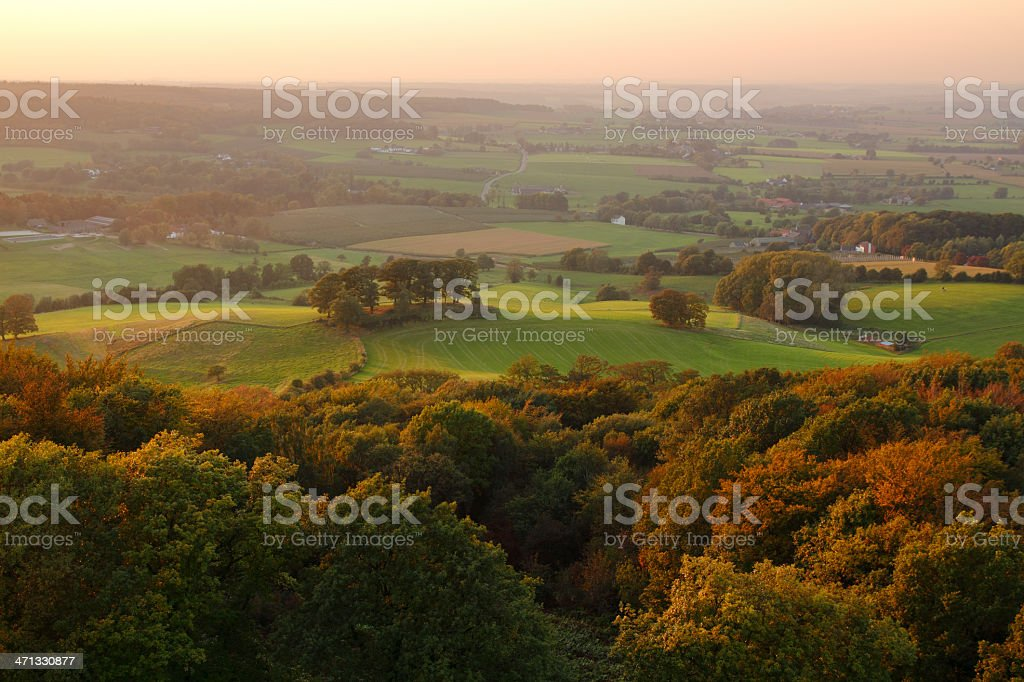 Landscape overview stock photo