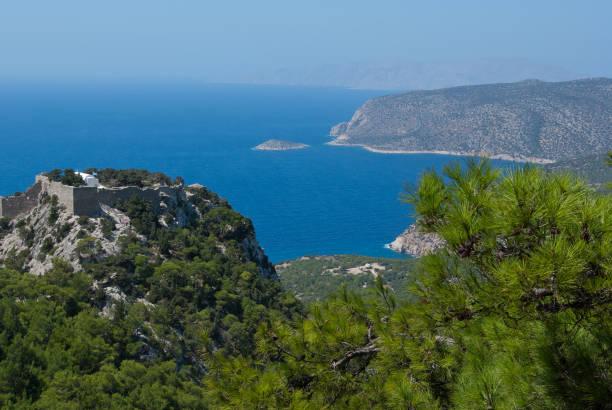 Landschaftspanorama von Rhodos, Griechenland – Foto