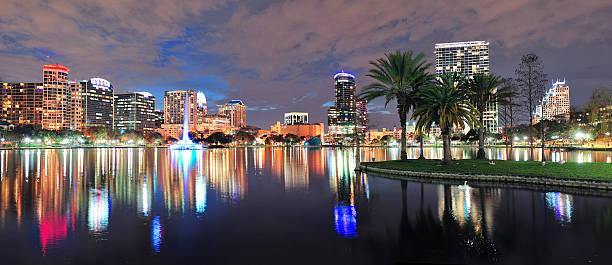 Orlando panorama bei Nacht – Foto