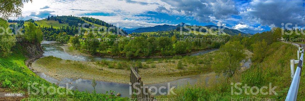 landscape panorama royalty-free stock photo