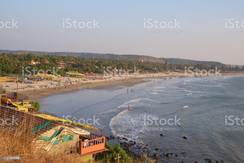 Landscape Photo Of Coastline And Sandy Beaches With High Point In High Resolution Sea Line Sandy Beach And Forest On Background Stock Photo Download Image Now Istock