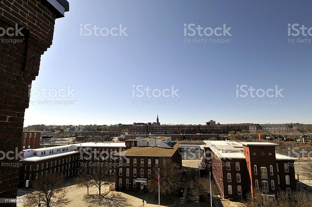 Landscape photograph of Old City Vista stock photo