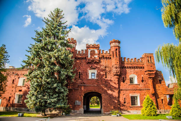 Landscape Brest Fortress belarus stock pictures, royalty-free photos & images