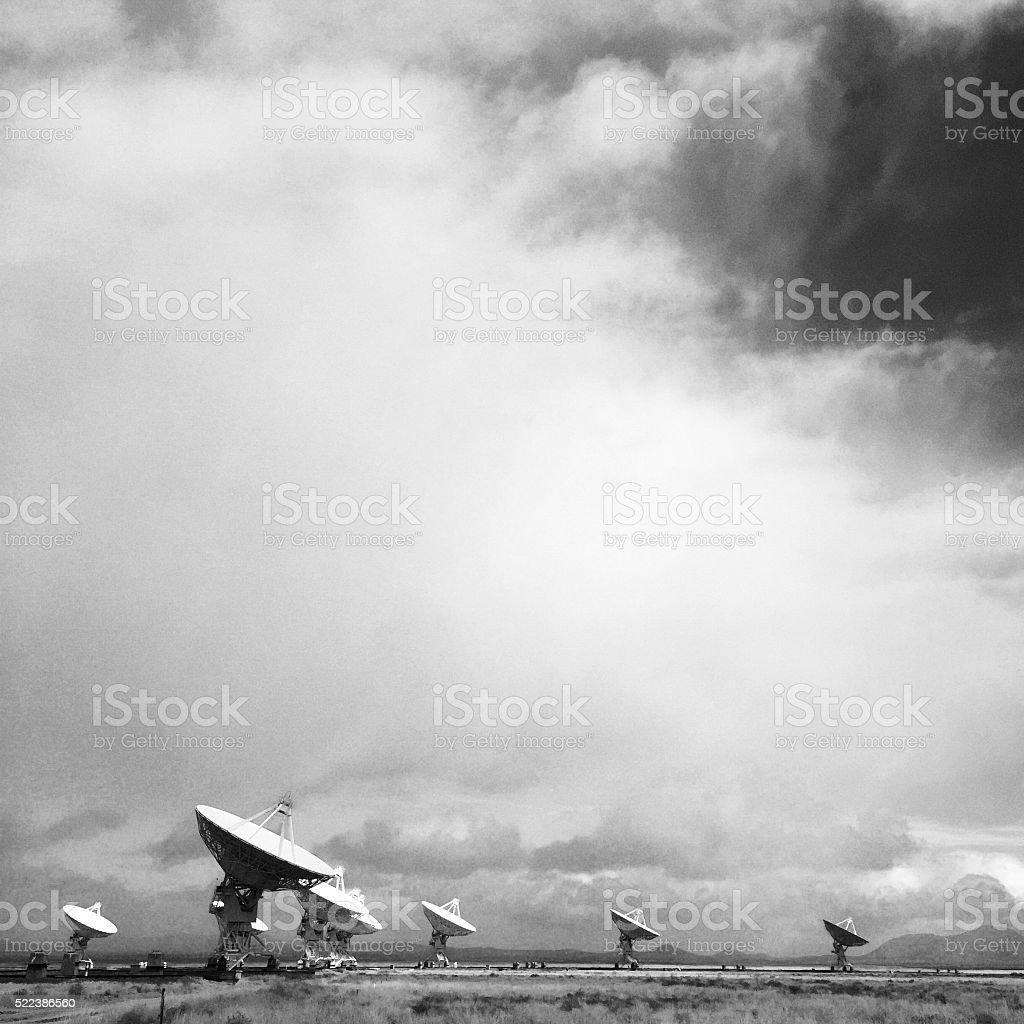 VLA landscape stock photo