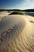 Sand dune in Sam phan bok Thailand.