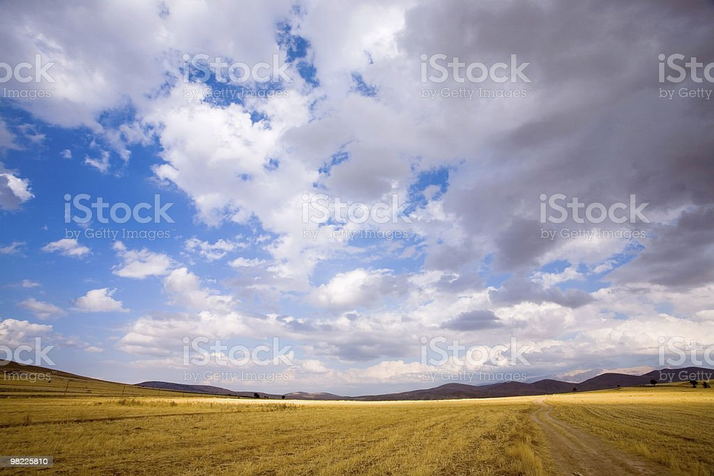 Landscape (wide angle) royalty-free stock photo