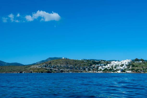 해안의 풍경 장면 - 굼베 뉴스 사진 이미지
