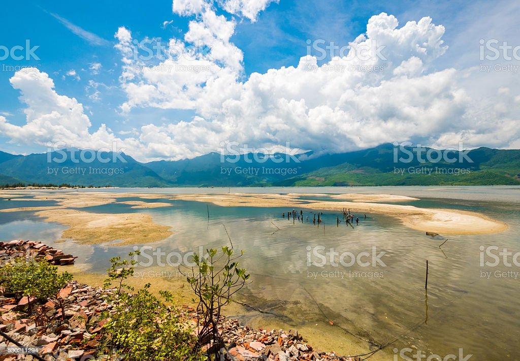 Landscape scenery in Hue, Vietnam stock photo