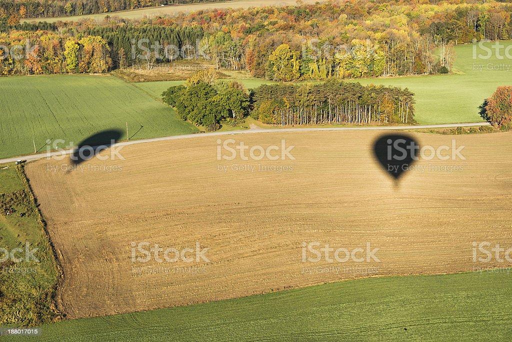 Landscape Shadows royalty-free stock photo