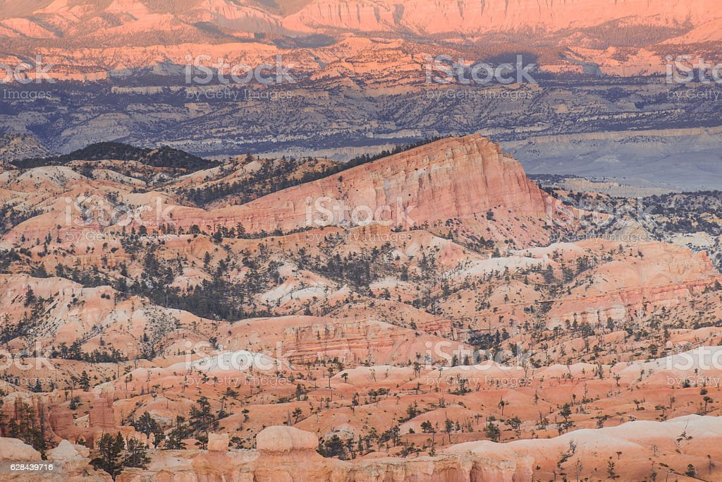 landscape stone in Bryce Canyon stock photo