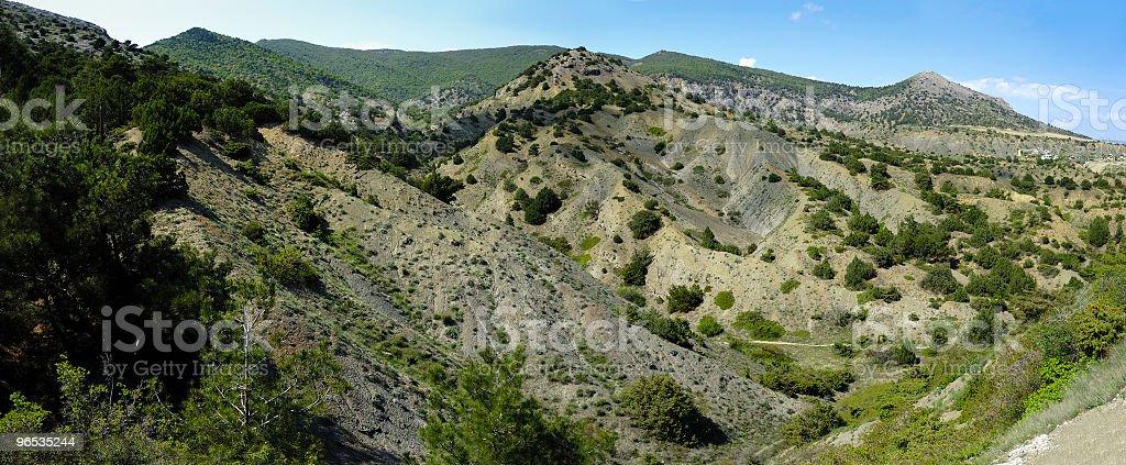 Krajobraz Sudak zbiór zdjęć royalty-free