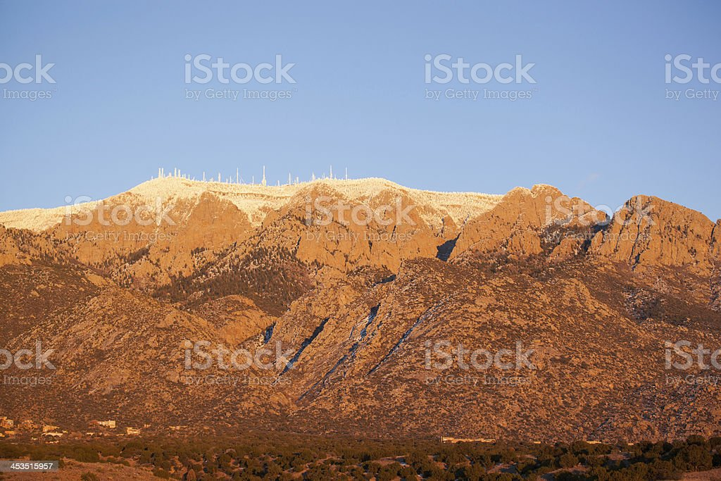 landscape sunset stock photo