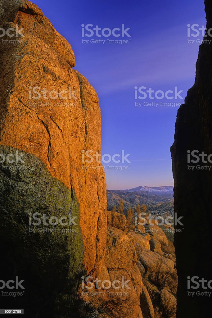 landscape sunset royalty-free stock photo