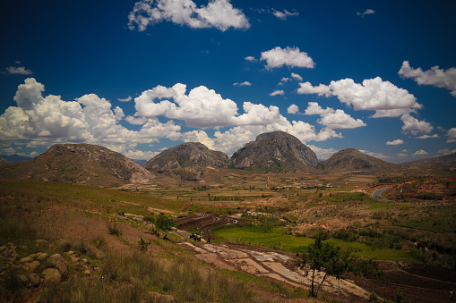 istock Landscape to Andringitra mountain range, Ihosy, Madagascar 1137244053