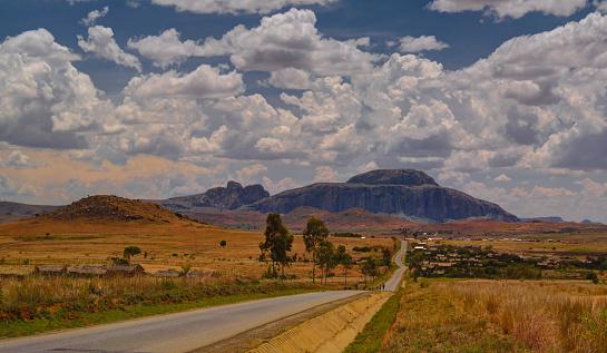 istock Landscape to Andringitra mountain range, Ihosy, Madagascar 1138417808