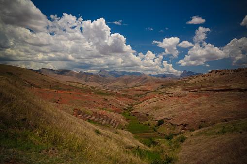 istock Landscape to Andringitra mountain range, Ihosy, Madagascar 1141130965