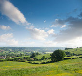 Landscape View In The Cotswolds, England
