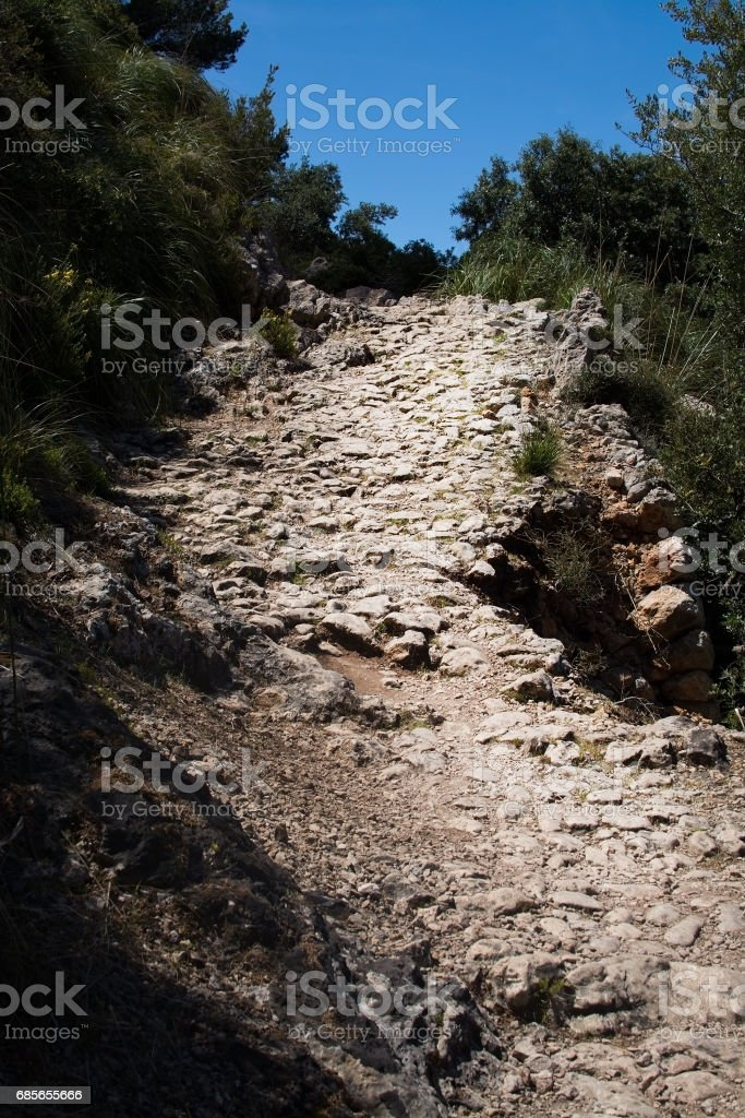 Landscape view Mallorca royalty-free 스톡 사진