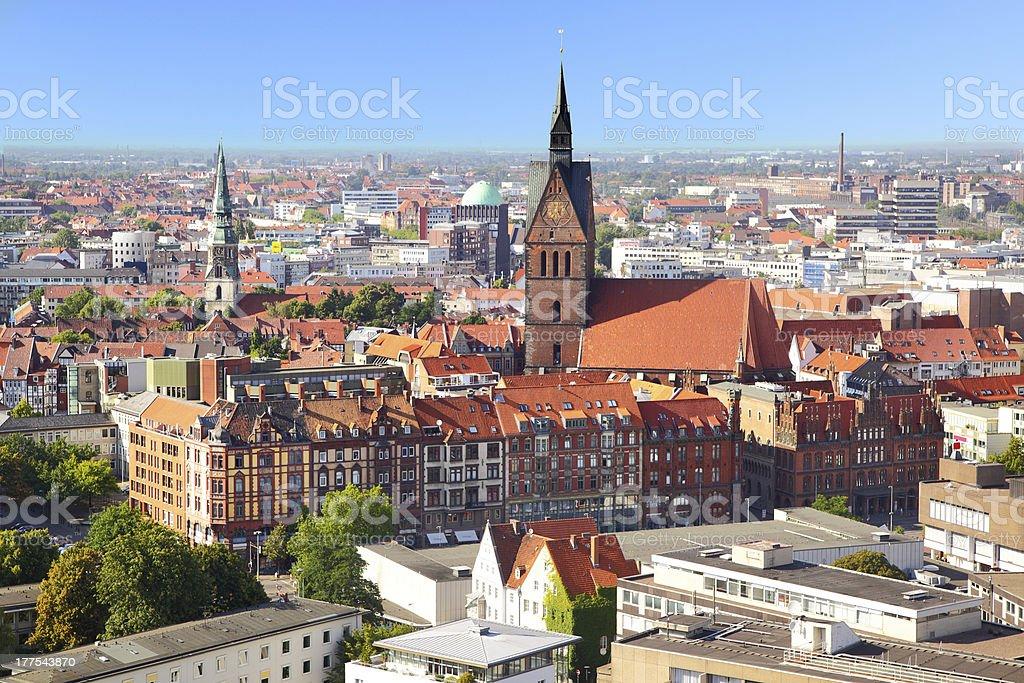 Hanover - Lizenzfrei Ansicht von oben Stock-Foto