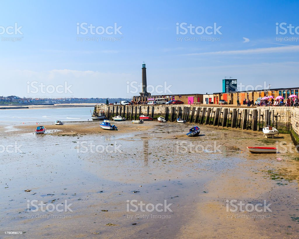 A landscape view of the Margate in Kent, England stock photo