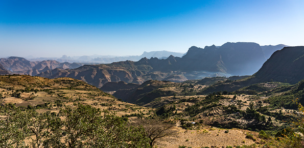 istock Landscape view of the Simien Mountains National Park in Northern Ethiopia 1132794297