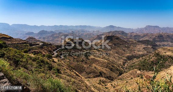 istock Landscape view of the Simien Mountains National Park in Northern Ethiopia 1151210818