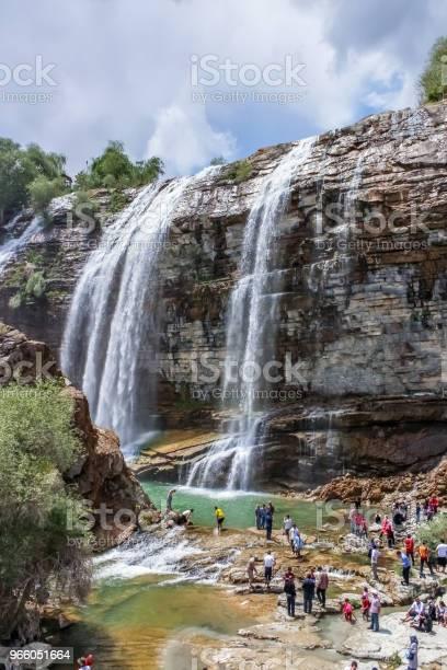 Landschaftsansicht Tortum Wasserfall In Tortum Stockfoto und mehr Bilder von Bach