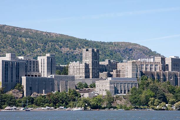 Landscape view of West Point buildings