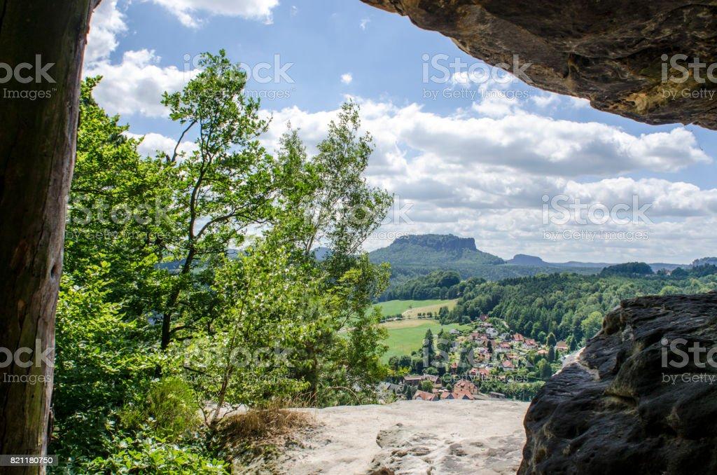 Blick auf die Landschaft – Foto