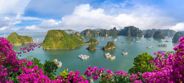 Landscape with amazing Halong bay