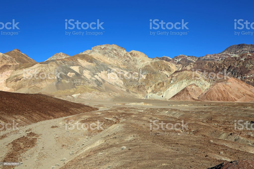 Landscape with Artists Palette - Royalty-free Artist's Palette Stock Photo