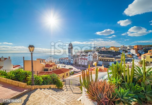 istock Landscape with Candelaria,Tenerife 1129184201