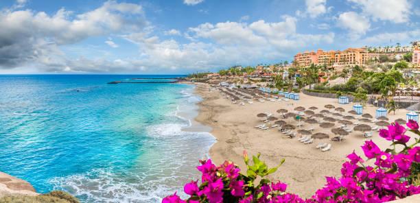 Landscape with El Duque beach
