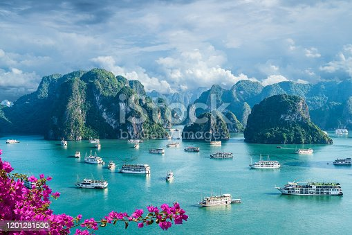 istock Landscape with Halong bay 1201281530