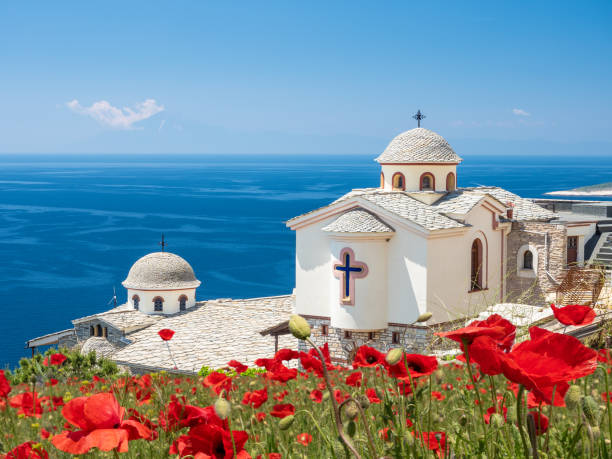 Landscape with Thassos Monastery