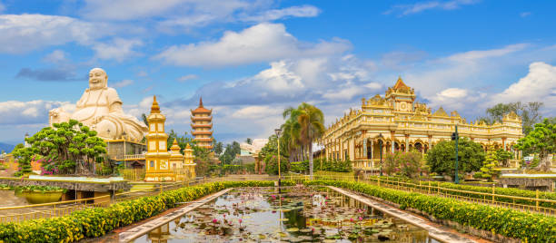 Landscape with Vinh Tranh Pagoda