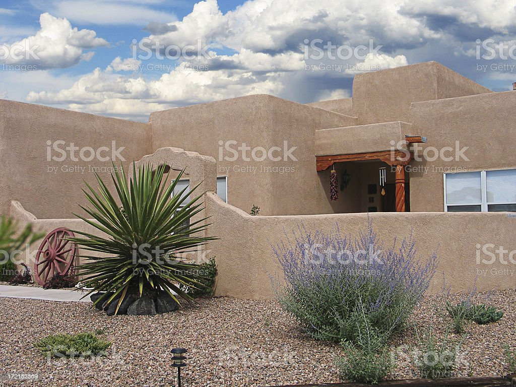 Landscaped Home royalty-free stock photo