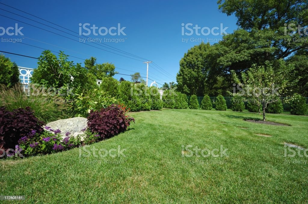 landscaped royalty-free stock photo