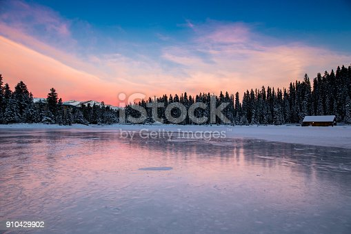 landscape-lake louise,Banff national park,Canada